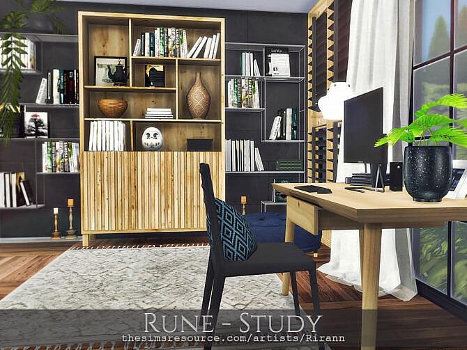 Sims 4 Rune Study by Rirann at TSR