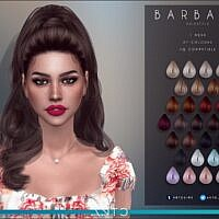 Barbara Wavy Ponytail Hair By Anto