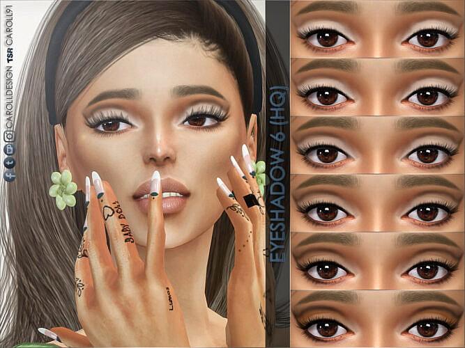 Eyeshadow 6 (hq) By Caroll91
