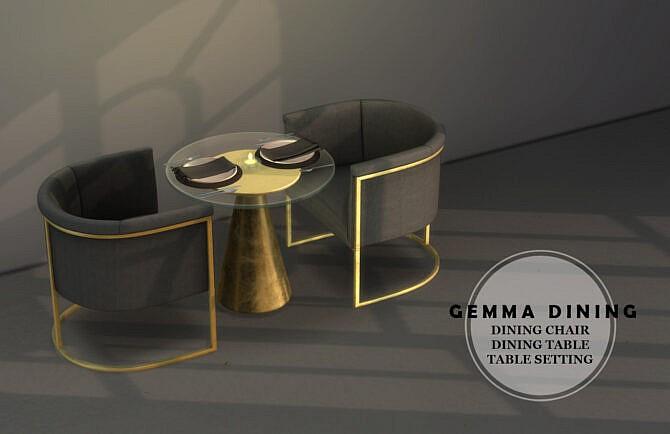 Gemma Dining Set