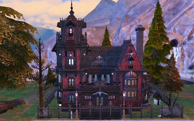 Sims 4 Blood Manor by alexiasi at Mod The Sims 4