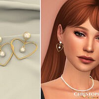 Cupid Earrings By Christopher067