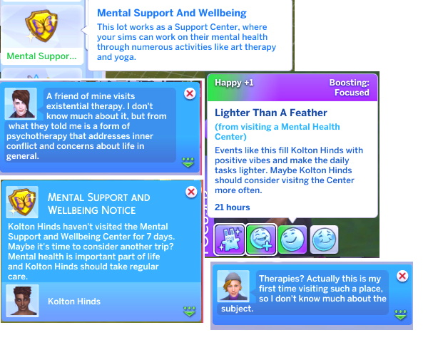 Mental Support And Wellbeing Lot Trait By Miraimayonaka