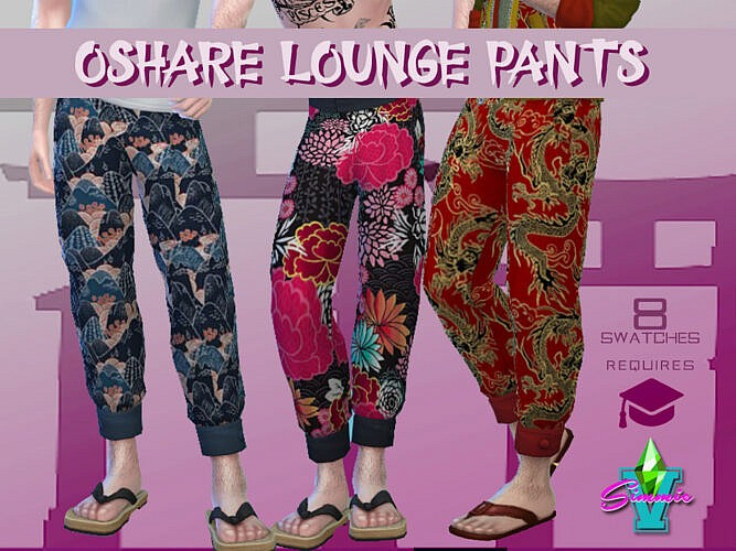 Oshare Lounge Pants By Simmiev