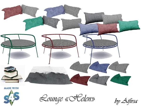 Sims 4 Lounge Helen at Aifirsa
