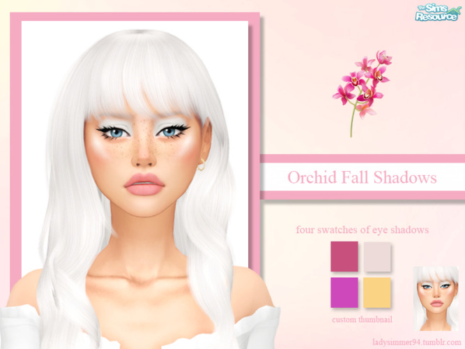 Orchid Fall Shadows By Ladysimmer94