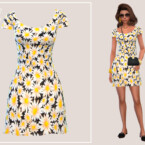 Spring Daisies Dress By Paogae
