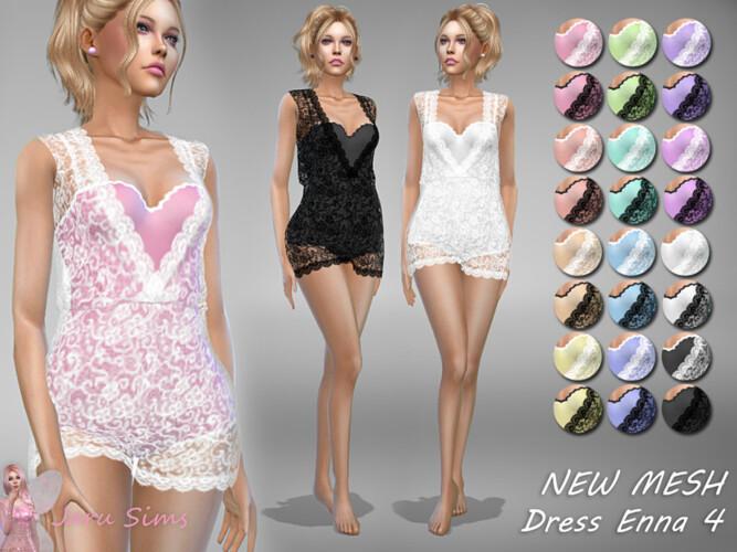 Dress Enna 4 By Jaru Sims