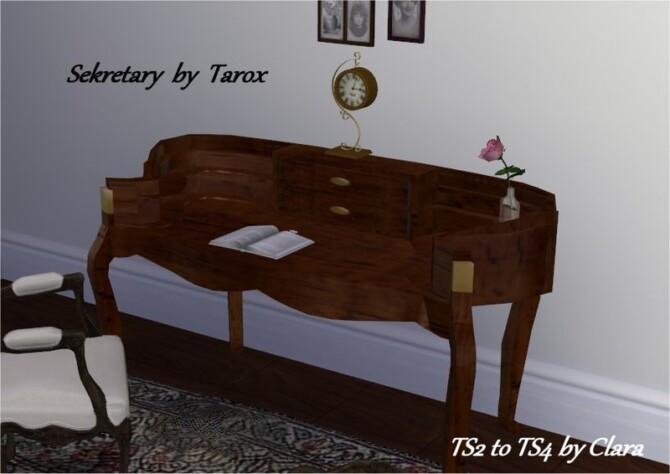 Tarox's Secretary Desk Conversion By Clara