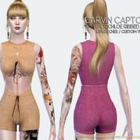 Chloe Ribbed Pants By Carvin Captoor