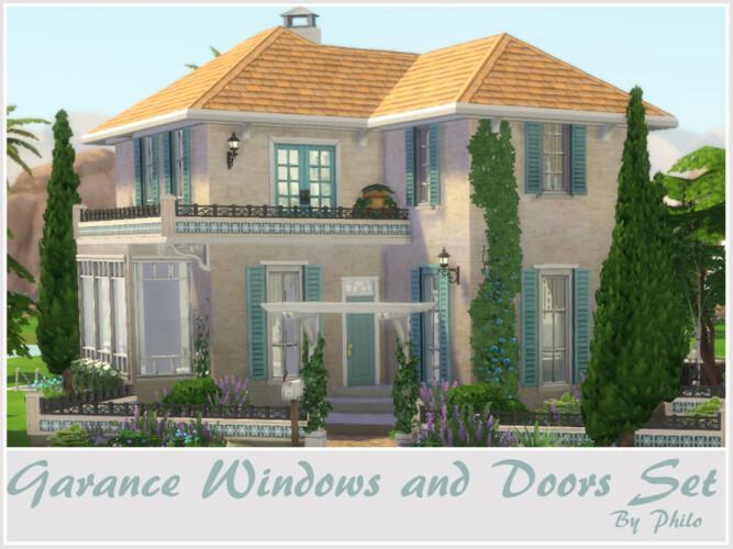 Garance Windows And Doors Set By Philo