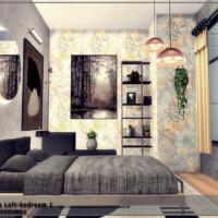 Exclusive Bedroom 1 [brooklyn Loft] By Danuta720