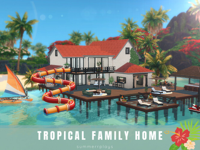Tropical Family Home By Summerr Plays