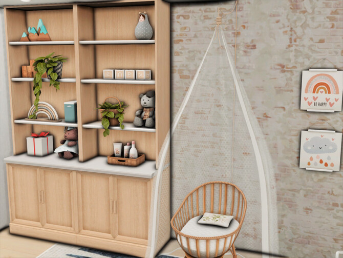 Sims 4 701 ZenView Nursery by xogerardine at TSR