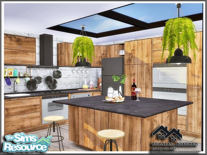 Eupalin Kitchen By Marychabb