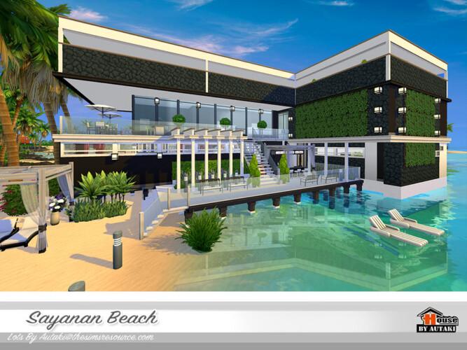 Sayanan Beach House By Autaki