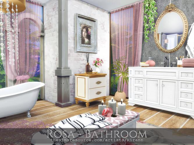 Rosa Bathroom By Rirann