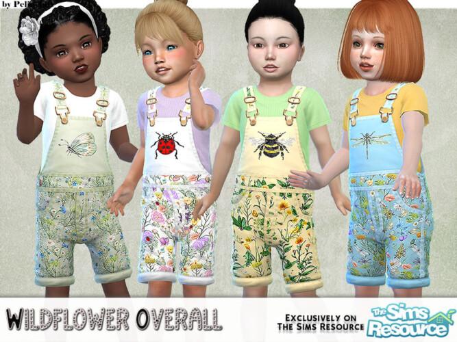 Wildflower Short Overall By Pelineldis