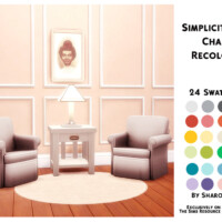 Simplicit Ease Chair Recolour By Sharon337
