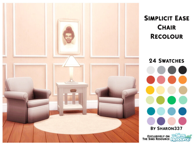 Sims 4 Simplicit Ease Chair Recolour by sharon337 at TSR