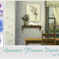 Garance Flowers Paintings By Philo
