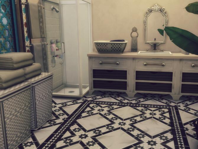 Sims 4 Sultan house by GenkaiHaretsu at TSR