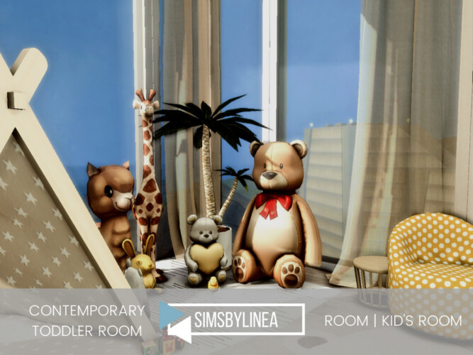 Contemporary Toddler Room By Simsbylinea