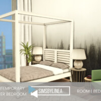 Contemporary Master Bedroom By Simsbylinea