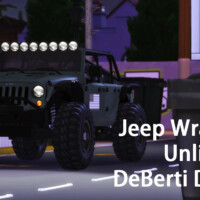 2013 Jeep Wrangler Unlimited Deberti Design