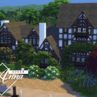Queen Anna Big Tudor House By Genkaiharetsu