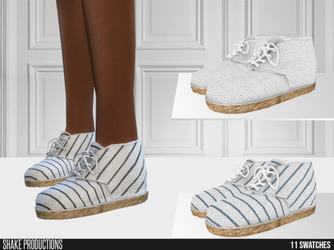 Sims 4 684 Espadrille Sneakers by ShakeProductions at TSR