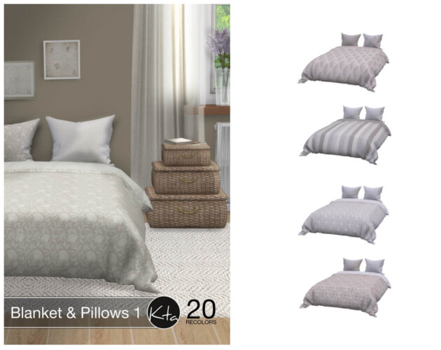 Blanket & Pillows 1