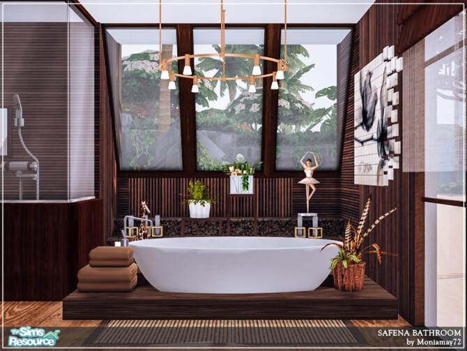 Sims 4 Safena Bathroom by Moniamay72 at TSR