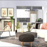 Livgreen Living Room By Algbuilds