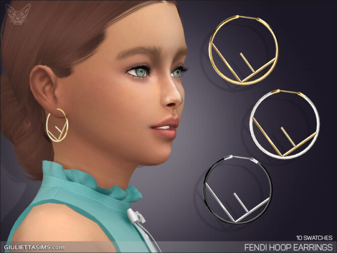 Hoop Earrings For Kids