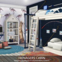 Teenagers Cabin By Dasie2