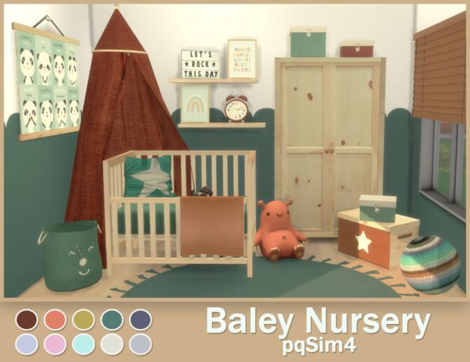 Sims 4 Baley Nursery at pqSims4