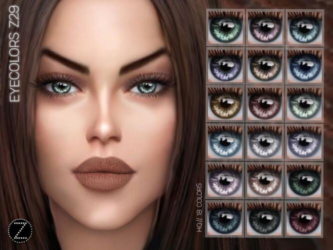 Eyecolors Z29 By Zenx