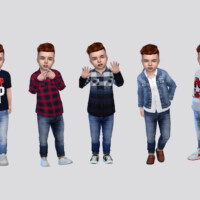 Zamyr Jeans Toddler By Mclaynesims