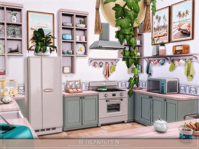 Retro Kitchen By Mychqqq
