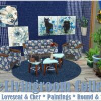 Blue Livingroom Collection