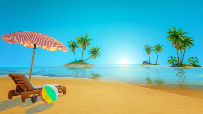 Sims 4 Sulani Loading Screens at Katverse