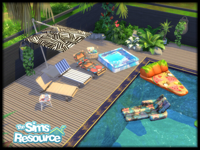 Sims 4 Summer Essentials Collection by seimar8 at TSR