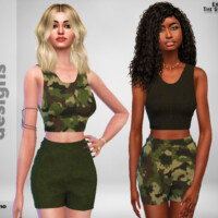 Charlie Camo Outfit By Pinkfizzzzz