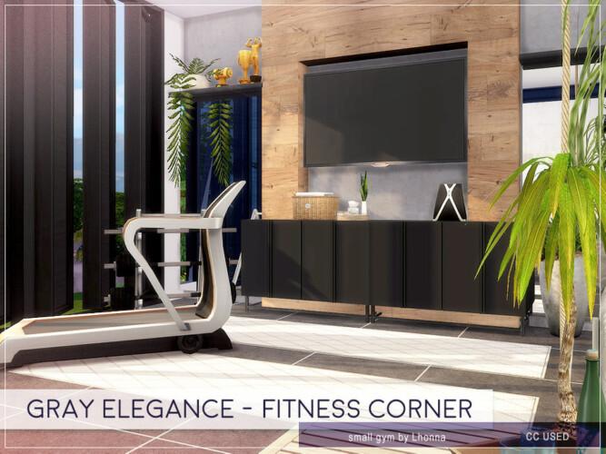 Gray Elegance Fitness Corner By Lhonna