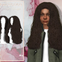 Miraculous (child Hairstyle) By Javasims