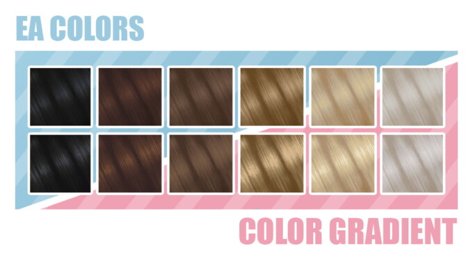New Ea Natural Swatches Gradients