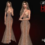 Evening Rolna Dress By Jomsims