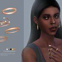 Goldie Rings By Sugar Owl