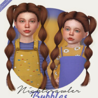 Nightcrawler Bubbles Hair For Kids & Toddlers